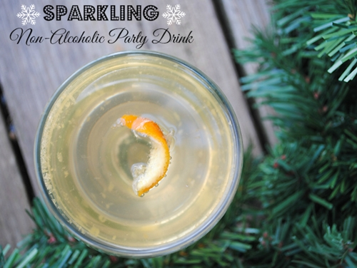 Sparkling Non-Alcoholic Party Drink