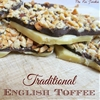 Homemade Old-Fashioned English Toffee