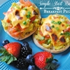 Breakfast Pizza Recipe from #SimpleStart