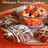 Molasses Pumpkin Cookies