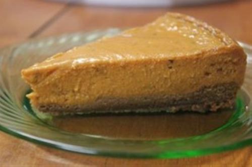 Dairy-Free Gluten-Free Pumpkin Pie Cheesecake