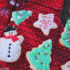Holiday Cutout Sugar Cookies