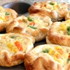 Chicken Pot Pie Puffs with #PillsburyBiscuits