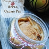 Autumn Recipe in a Jar ~ Apple Crumb Pie