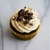 Chocolate Cupcakes with Cookie Dough Frosting - southern kissed