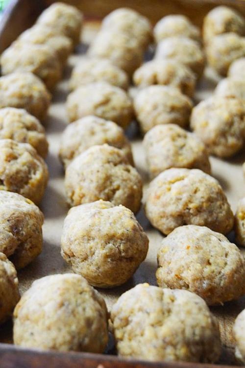 Sausage Balls - With a Twist (Gluten-Free)