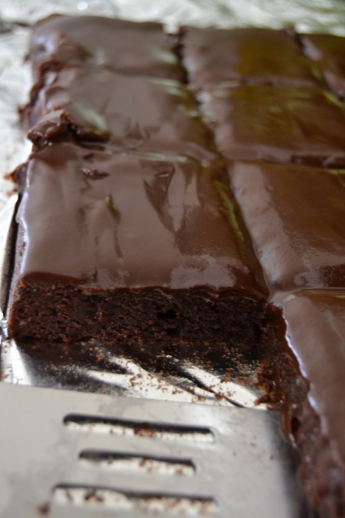 Brownie Sheet Cake