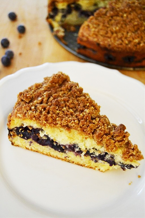 Blueberry Coffee Cake - Nut Free