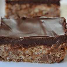 Candy Bar Rice Krispies Treats