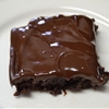 Gluten Free Brownies with Chocolate Icing
