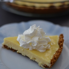 Easy Lemon Pie with Grape-Nuts Crust
