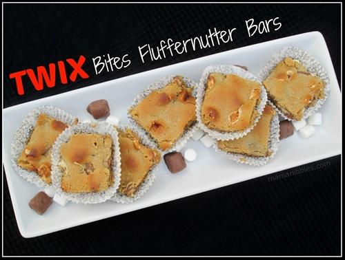 TWIX Bites Fluffernutter Bars
