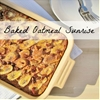 Baked oatmeal sunrise