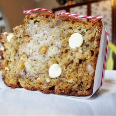 Mamas Best White Chocolate Macadamia Banana Bread Recipe