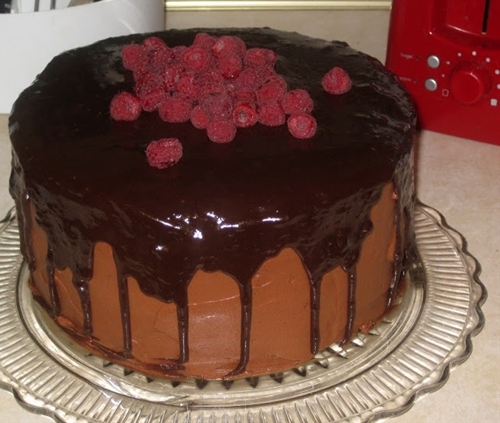 Decadent Gluten Free Chocolate Mocha Layer Cake