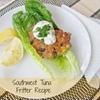 mama nibbles: good for you southwest tuna fritter