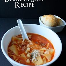 Crock Pot Lasagna Soup Recipe and Other Football Party Ideas