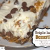 Triple layer dessert
