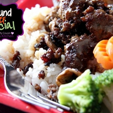 Ground beef special