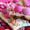 Chocolate Chip Cookie Confetti Bark