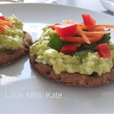 Egg and Avocado Salad Sandwich