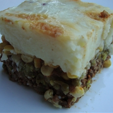 Asian Inspired Shepherds Pie