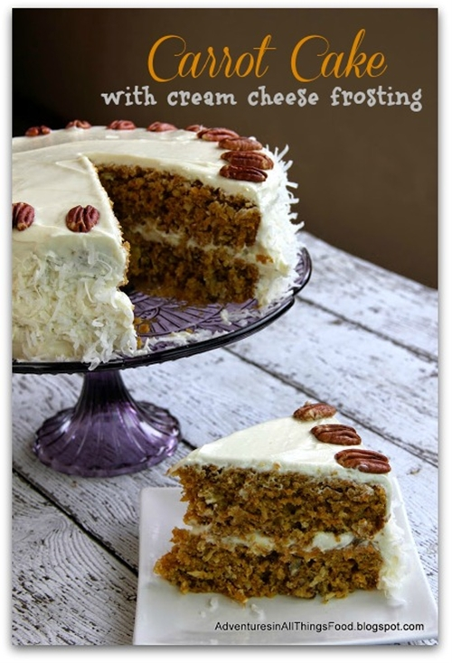 Moist & Flavorful Carrot Cake
