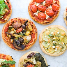 Vegetarian Mini Pizza