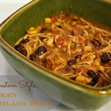 Slow Cooker Southwestern Style Chicken Tortilla Soup