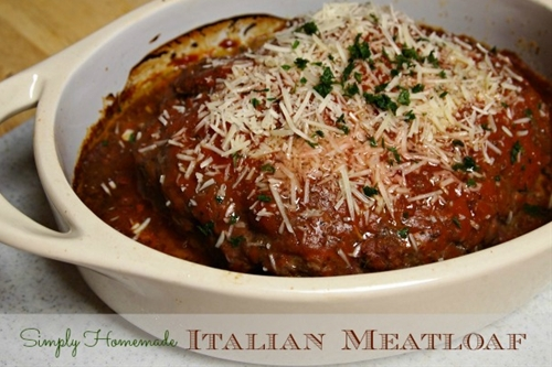 Italian Meatloaf Recipe-10 Minute Dinner