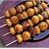 Dinnertime Shortcuts: Bacon, steak, potato and cheese kabobs
