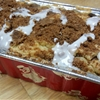 Cinnamon Streusel Coffee Cake Bread
