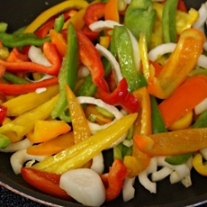 15 Minute Chicken Fajitas #15MinuteSuppers