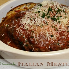 Italian Meatloaf Recipe – 10 Minute Dinner