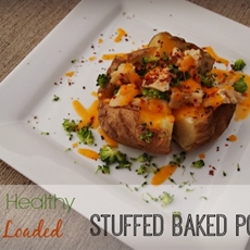 Super Healthy, Super Loaded Baked Potato – #SimpleStart to Weight Loss