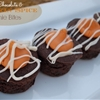 White Chocolate and Pumpkin Spice Brownie Bites