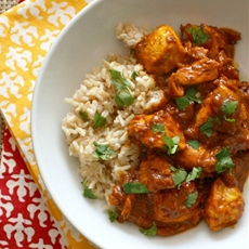 No-butter butter chicken