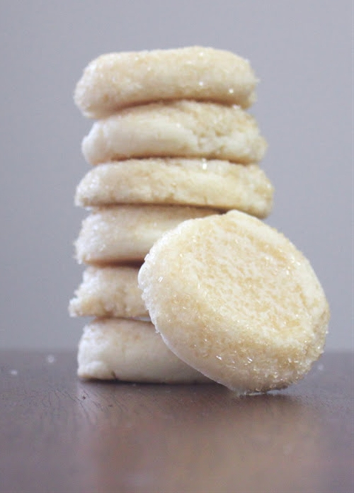Soft and Chewy Almond Sugar Cookies