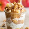 Sugar-Free Apple Pie Chia Seed Jam + Breakfast Parfait