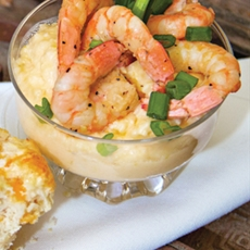 Tacky Jacks Shrimp and Cheese Grits