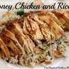 Easy Crock Pot Meals – Honey Chicken and Rice Recipe