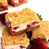 Frozen Strawberry Crunch Bars