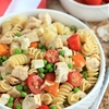 Chicken and Pea Pasta Salad