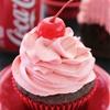 Cherry Coke Cupcakes