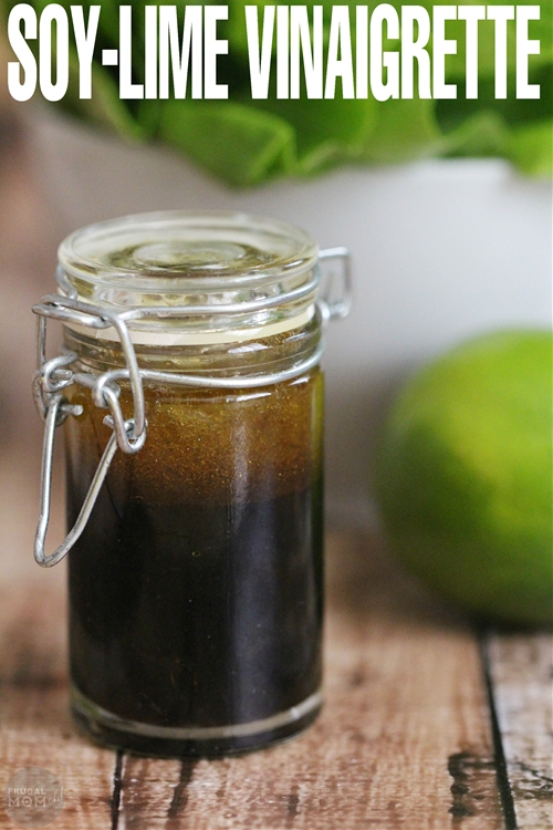 Soy-Lime Vinaigrette Recipe