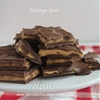 Buckeye bark - chocolate chocolate and more!