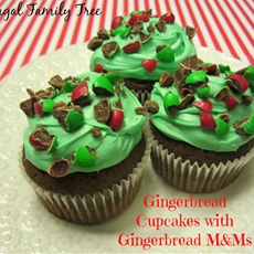 Gingerbread cupcakes with ging