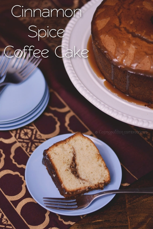 Cinnamon Spice Coffee Cake