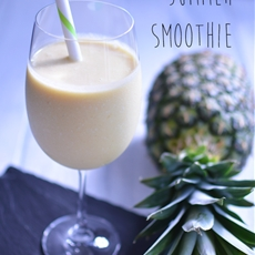 Piña Colada Summer Smoothie