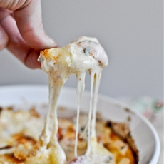 White Pizza Dip with Cream Cheese